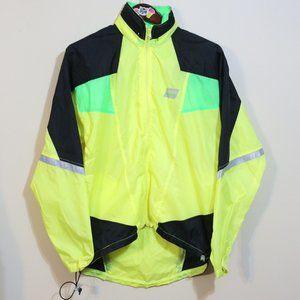 NIKE neon thin reflective windbreaker jacket